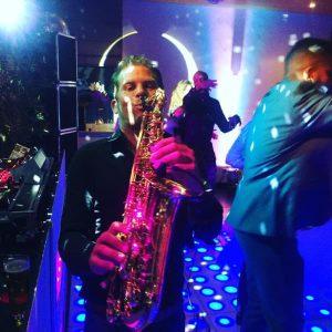 DJ Ro en Saxofonist Saxojoe